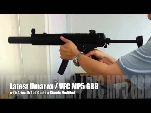 Latest Umarex / VFC MP5 SD GBB