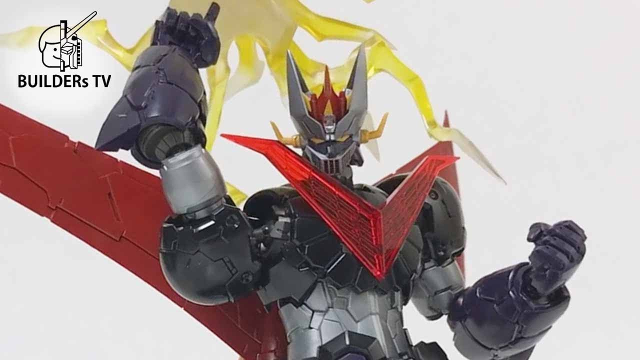 Thunder Break!! – HG GREAT MAZINGER (Infinity Ver.) Speed Build Review