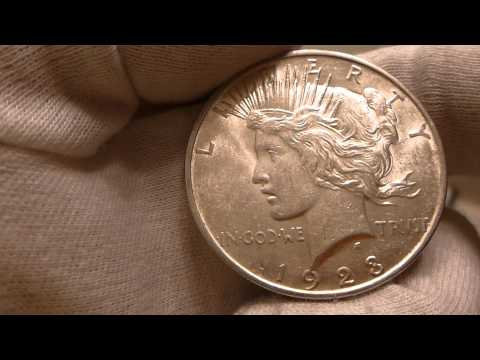 1923 Peace Silver Dollar Coin Review