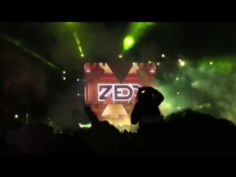 [Zedd] DJ Snake - Let me love you (live at...