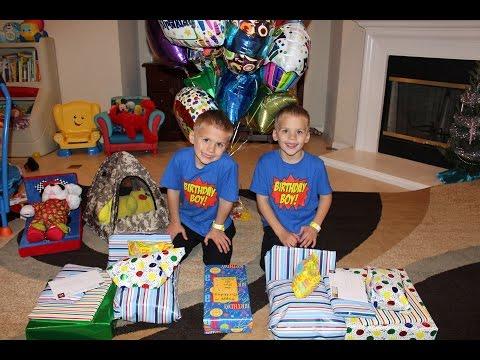 Twins 6th Birthday