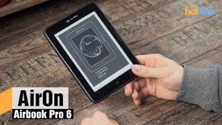 AirOn Airbook Pro 6 — обзор ридера