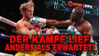 HEFTIG! Floyd Mayweather vs Logan Paul war ANDERS! Erste Reaktion!