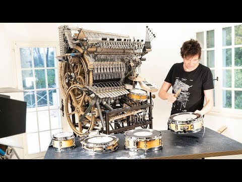 My Dream Snare Drum Sound - Marble Machine X #106