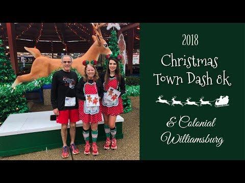 Christmas Town Dash 8k 2018