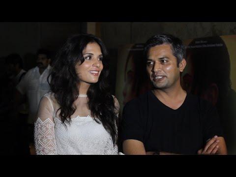Richa Chadda  Neeraj Ghaywan  Inteview  Masaan Film Screening