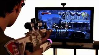 Assault Rifle Controller for PlayStation 3 and PlayStation Move