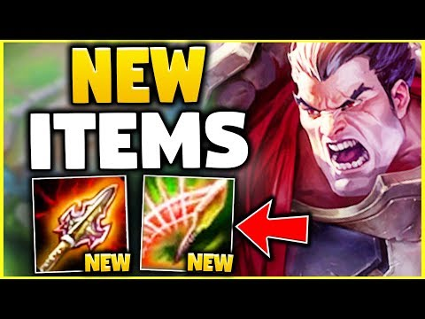 WTF? THESE NEW ITEMS ARE SO DUMB! 600+ AD WHILE FULL TANK? (100% BROKEN) - League Of Legends