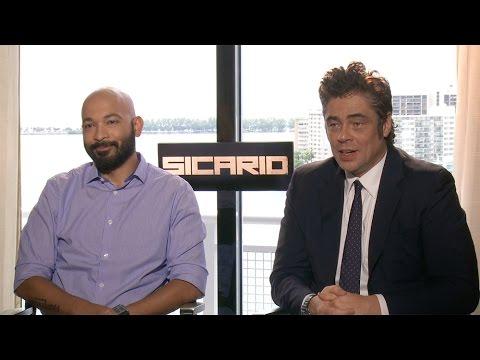 Maximiliano Hernández & Benicio Del Toro Interview: Sicario