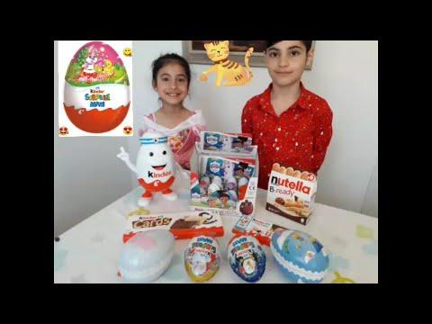 20-surprise-eggs-kinder-maxi🐶-toy-box-sürpriz-yumurta-Çikolata-açıyoruz