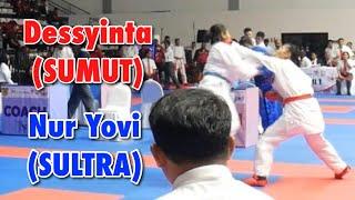 Dessynta Rakawuni (Sumut) Vs Nur Yovi Islami (Sultra) - PRA PON 2019