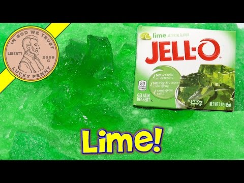 Make Jello Slime - Will It Slime - Lime Jello Slime