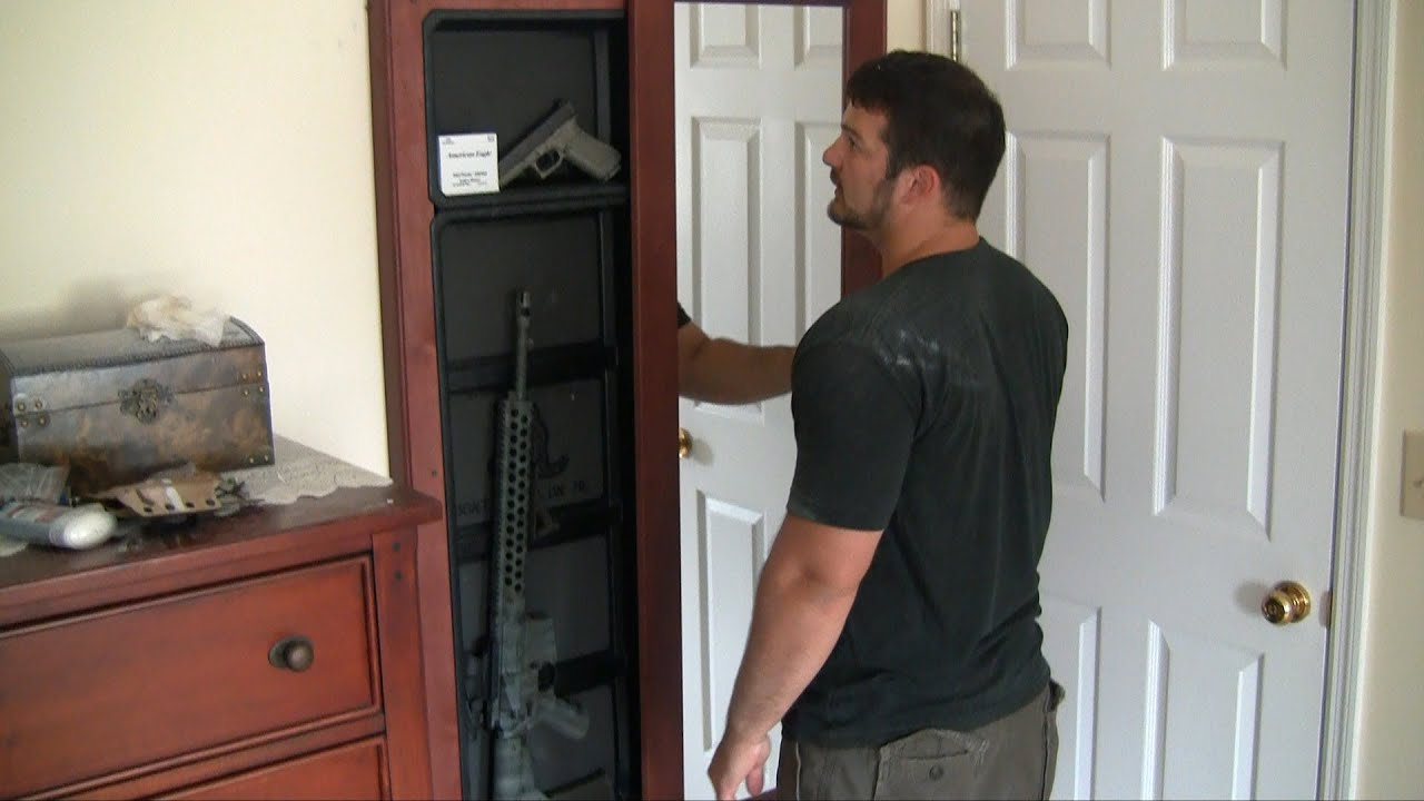 Tactical walls covert arms storage youtube amipublicfo Image collections