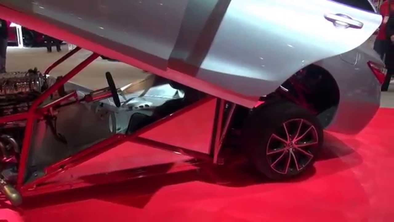SEMA SHOW 2014 TOYOTA CAMRY Sleeper Drag Car - YouTube