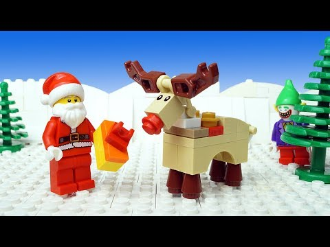 Lego Christmas Robbery - Santa Claus Gift