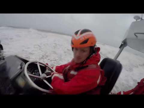 Coast Guard Station Oregon Inlet Surf Drills in North Carolina