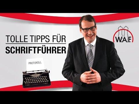 Sonderrolle Schriftführer: Was muss ich beachten? | Betriebsrat Video