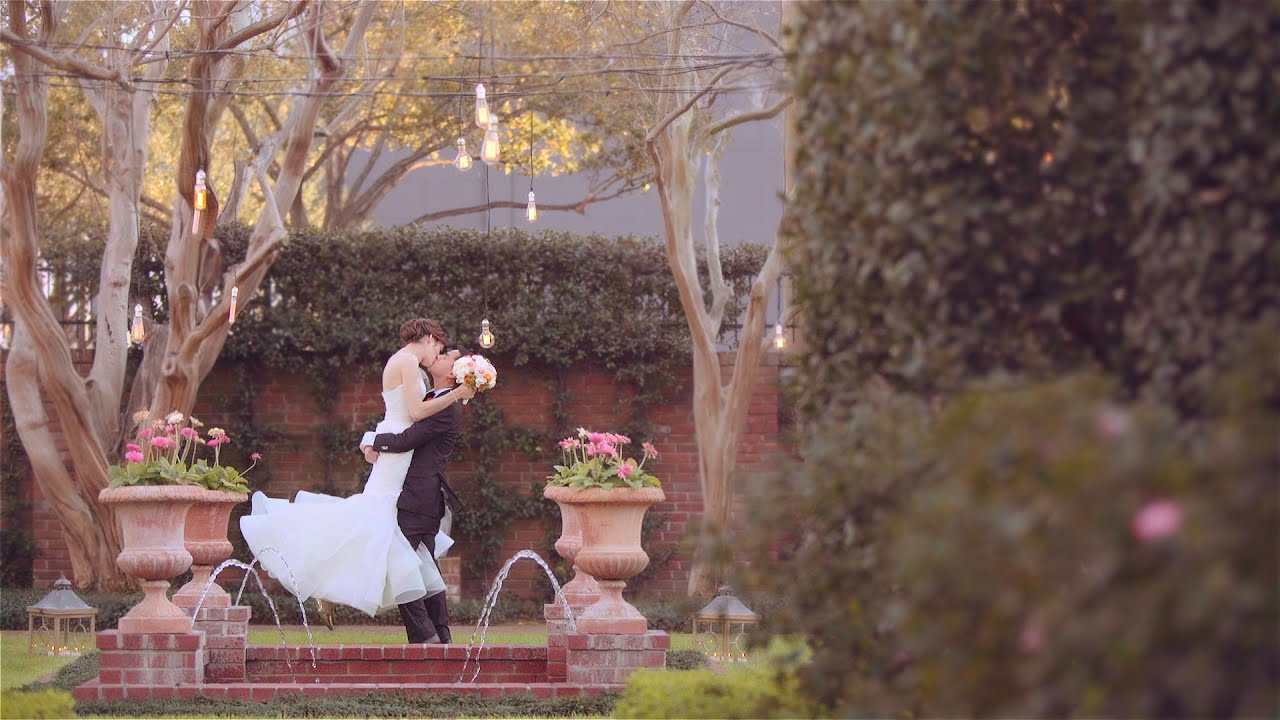 Emotional Wedding film Proposal Story at River Oaks Garden Club