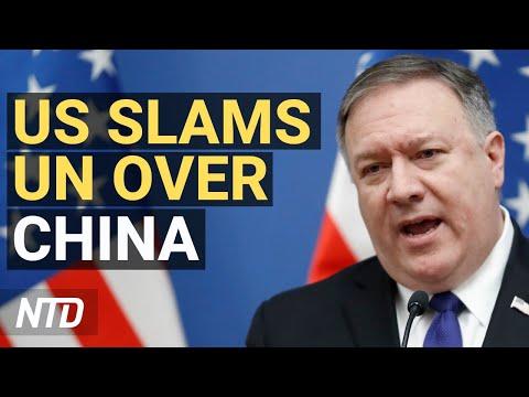 US Slams UN Over China; Supreme Court Gives Win To Trump Admin; China Premier Warns Nation In Crisis