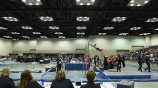 Ella Cesario - Uneven Bars - 2017 Women's Junior Olympic Championships