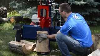 Iron & Oak 26 Ton Horizontal/Vertical Log Splitter