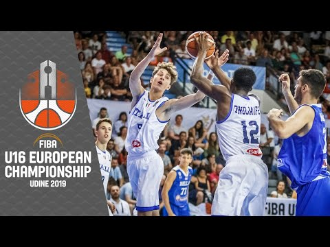 Italy v Greece - Full Game - FIBA U16 European Championship 2019