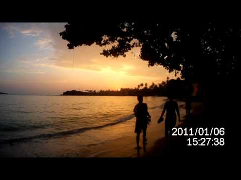 Sri Lanka sunset, meditation video.MOV