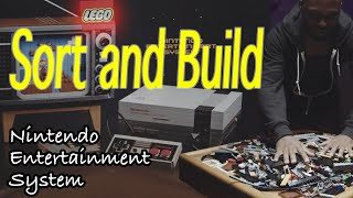 LEGO Sort and Build Nintendo Entertainment System 4K
