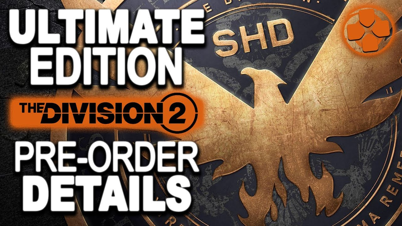 division 2 ultimate edition ps4 content