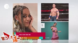 "John Cena recognizes Sho Madjozi  ""JohnCena"" song"