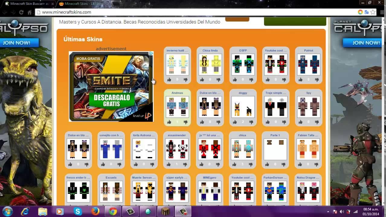 Como Cambiar El Skin En Minecraft No Premium Dos Maneras - Nombres de skins para minecraft 1 8 premium
