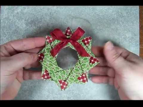 How To Make Origami Christmas Tree From Money
