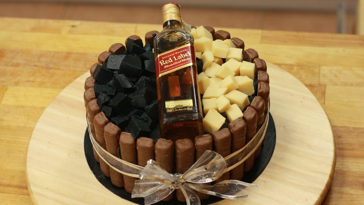 Pijany Tort Dla Dorosłych Johnnie Walker Cake Od 18 Lat