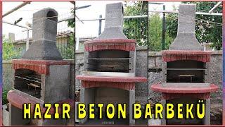Hazır Beton Barbekü Montajı - Yapılışı