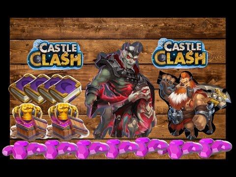 Castle Clash Revenant New Hero Game Play