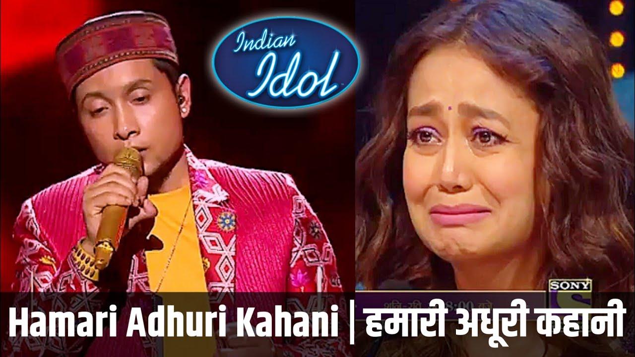 Download Pawandeep Rajan | Hamari Adhuri Kahani | Indian Idol 28th Feb 2021 Performance 🇮🇳☹️