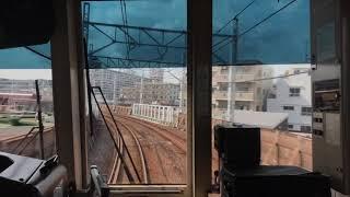 都営三田線 地上区間【前面展望】志村坂上(I-21)→西高島平(I-27)
