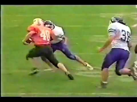 Waynesburg College Football Highlight Tape 1997