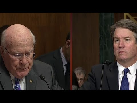 WATCH: Sen. Patrick Leahy questions Brett Kavanaugh