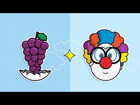 Angličtina pro děti: Grapes - Hroznové víno