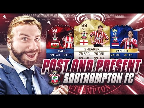 PAST AND PRESENT SOUTHAMPTON FC SQUAD BUILDER - FIFA 16 Ultimate Team - 94 STRIKER BALE