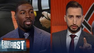 Baker needs to stop criticizing the refs & just play ball - Greg Jennings | NFL | FIRST THINGS FIRST