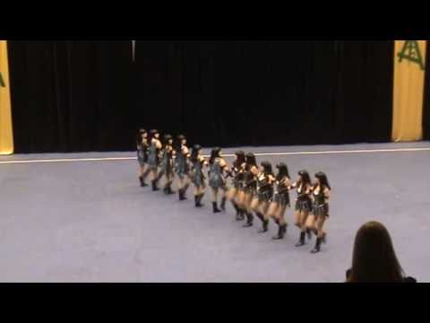 Black Diamonds Senior Drill Dance Team Exhibition 2011 Australian Champions
