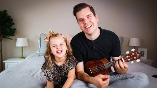 Gambar cover Hakuna Matata - 6-Year-Old Claire and Dad (MAJOR Claire Laugh Attack 😂) Lion King Song