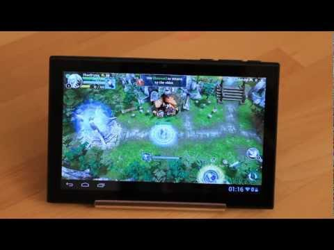 Heroes Of Order & Chaos Android Tablet - With Mouse