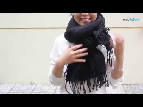 Cách quàng khăn - 7 cách quàng khăn len cực đẹp cho mùa đông