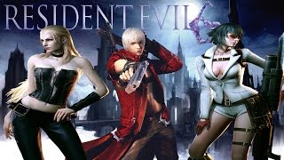 Resident Evil 6 // Mods DEVIL MAY CRY 4 (Dante, Lady and Trish)