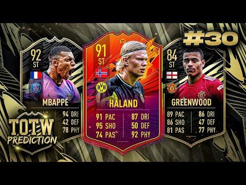 FINALE FOLGE..❌ FIFA 21: TOTW 30 PREDICTIONS! IF HALAND, MBAPPE & GREENWOOD 🔥