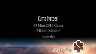 Eskişehir Camii – Cuma Hutbesi