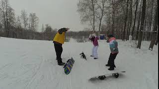 обучение сноуборду и горным лыжам в Казани XFREEDOM ______YDXJ1056
